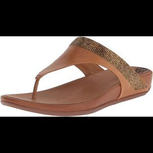 Fitflop Banda micro crystal toe post flip flop